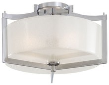 Minka-Lavery 4397-77 - 3 Light Semi Flush Mount