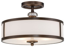 Minka-Lavery 4942-570 - 3 Light Semi Flush Mount