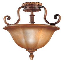 Minka-Lavery 6357-177 - 3 Light Semi Flush Mount