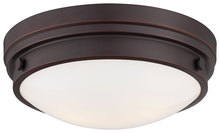 Minka-Lavery 823-167 - 2 Light Flush Mount
