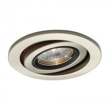 WAC US HR-D417-BK - One Light Black Directional Recessed Light