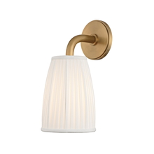 Hudson Valley 6061-AGB - 1 Light Wall Sconce