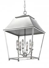 Feiss F3090/6PN - 6 - Light Foyer Pendant