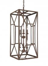 Feiss F3174/6WI - 6 - Light Foyer Chandelier