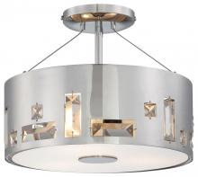 Minka George Kovacs P1091-077 - 3 LIGHT SEMI FLUSH MOUNT