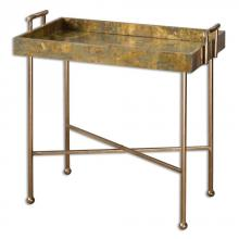 Uttermost 24448 - Uttermost Couper Oxidized Tray Table